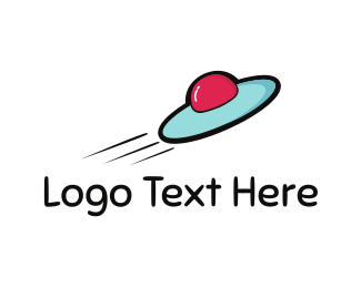 Frisbee - Fast Spacecraft logo design