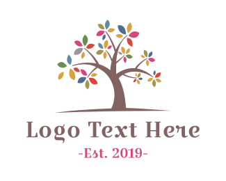 May - Spring Branches logo design