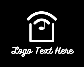 Smart - Slice Sound Music logo design