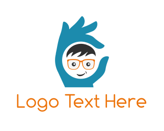 Hand - Perfect Geek logo design