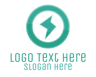 Beam - Power Electric Green logo design