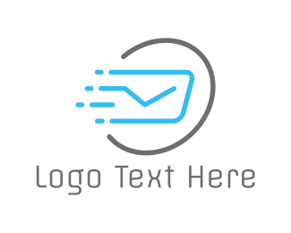 Post - Fast Post logo design
