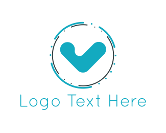 Verification - Blue Check logo design