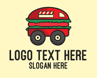 Food Truck - Burger Truck logo design
