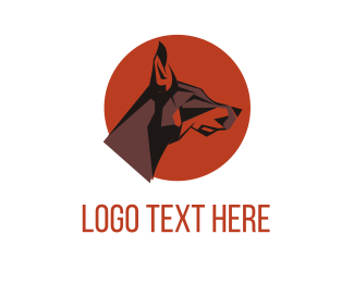 Breed - Dog Circle logo design