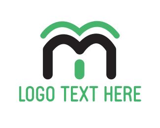 Letter M - Green Letter M logo design