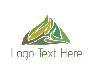 Outdoor - Green Hill logo design