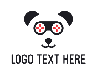 Panda - Gaming Panda logo design