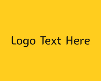 Wix - Yellow & Black Modern logo design