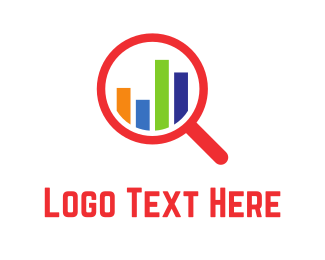 Statistics - Data Inspect logo design