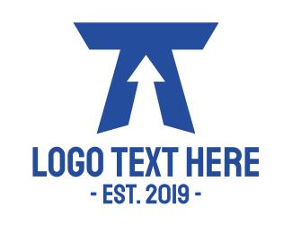 Arrow - Arrow T logo design
