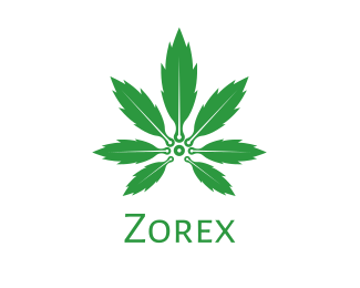 Weed - Cannabis Plant logo design