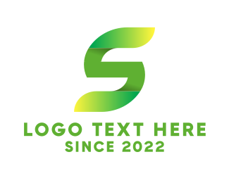 Green Letter S Logo