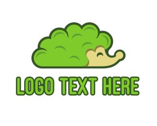 Games - Bush Hedgehog logo design