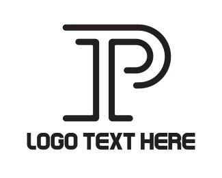 """Minimalist Letter P"" by podvoodoo13"