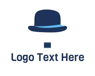 Theater - Hat & Film logo design