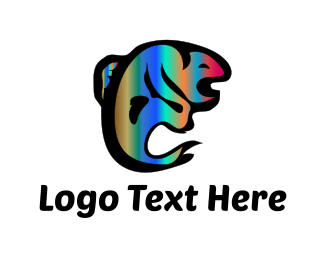 Fish - Psychedelic Fish logo design