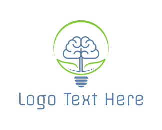 Psychologist - Smart Lighting logo design