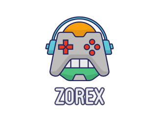 Gaming - Robot Game Controller logo design