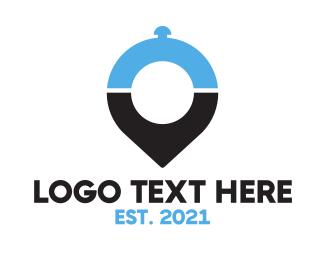 App - Food Locator App logo design