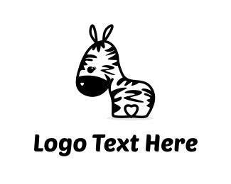 Cute Zebra Logo