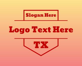 Austin - TX Shield logo design