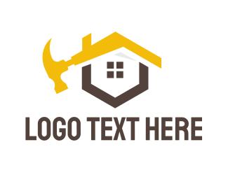 Joinery - Yellow Hammer House logo design