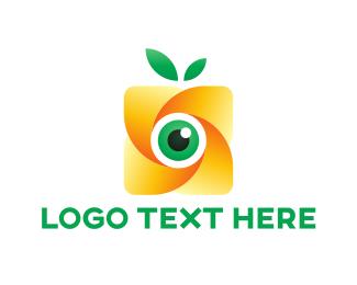 Vision - Eco Camera logo design