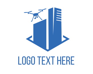 Drone Photography - Drone Building logo design