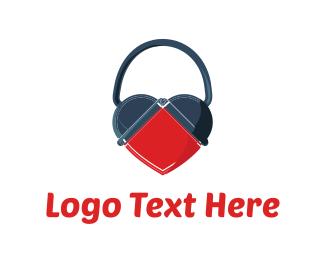 Headset - Love Song logo design