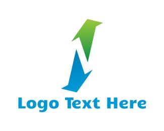 Browser - Up & Down logo design