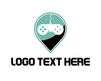 Tracker - Game Location logo design