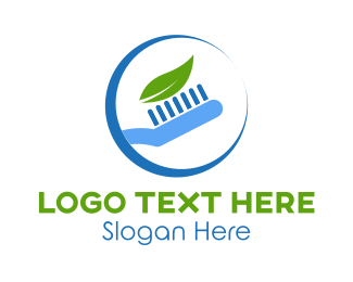 Brush - Eco Toothpaste logo design