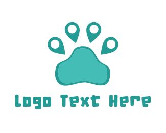 Footprint - Pet Place logo design