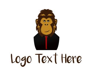 Gorilla - Stylish Monkey logo design