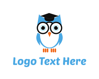 Owl - Owl Graduation logo design
