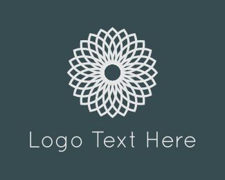Morocco - White Flower logo design