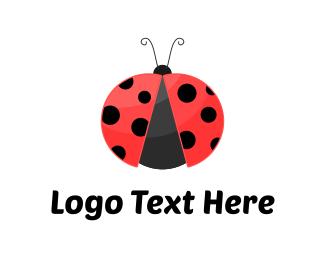Dots - Ladybug logo design
