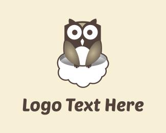 Cloud - Owl & Cloud logo design