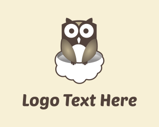 Owl & Cloud Logo