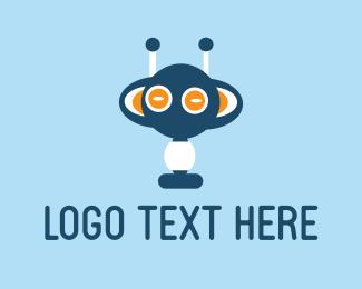 Chatbot - Blue Monster logo design