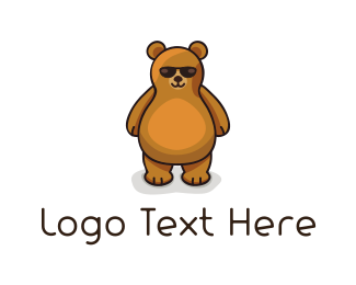 Toy - Cool Bear  logo design