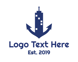 Mariner - Marine Tower logo design