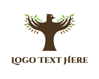 Robin - Falcon Tree  logo design