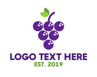 Bowl - Bowling Grapes logo design