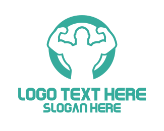 Muscle - Ultra Strong logo design