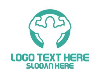 Supplements - Ultra Strong logo design