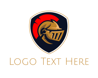 Pubg - Roman Shield  logo design