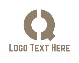 """""""Brown Letter Q"""" by Brandsimplicity"""