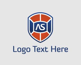 Blue And Red - Antispam logo design